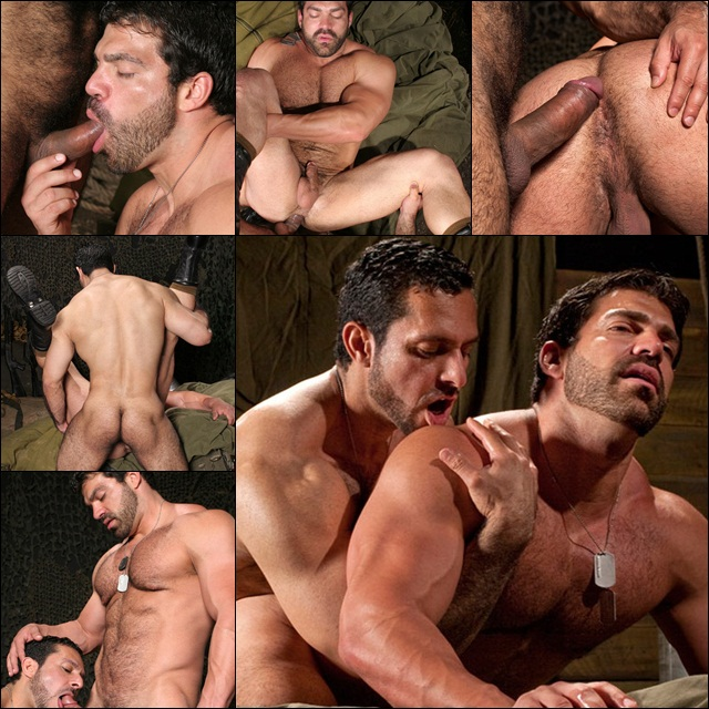 Two super masculine guys hug and caress then they fucking get going criminal