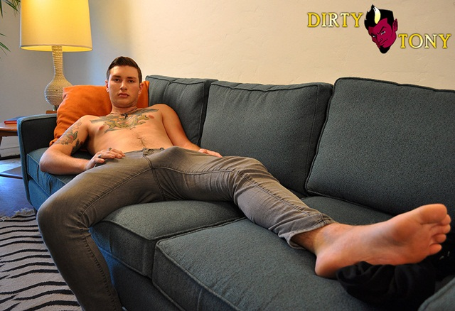 Charlie-Stone-Gets-Dirty-1-Young-nude-Boy-Twink-Strips-Naked-and-Strokes-His-Big-Hard-Cock-photo