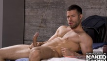 DJ-Tristan-Jaxx-and-Gay-Porn-Star-at-Naked-Sword-01-Ripped-Muscle-Bodybuilder-Strips-Naked-and-Strokes-His-Big-Hard-Cock-torrent-photo
