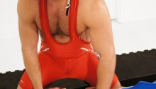 Derrick-Hanson-&-wrestler-Josh-West-001-Young-nude-Boy-Twink-Strips-Naked-and-Strokes-His-Big-Hard-Cock-for-at-Bound-Jocks-photo