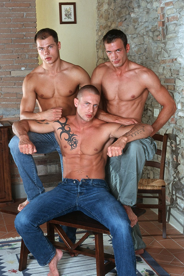 Italian-stallion-Max-and-Czech-superstar-Vilem-hot-threesome-with-Giorgio-at-Lucas-Kazan-1-Ripped-Muscle-Bodybuilder-Strips-Naked-and-Strokes-His-Big-Hard-Cock-photo