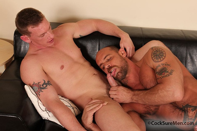 Jake-Deckard-&-Kieron-Ryan-001-Ripped-Muscle-Bodybuilder-Strips-Naked-and-Strokes-His-Big-Hard-Cock-for-at-Cocksure-Men-photo