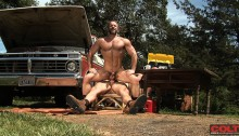 Spencer-Reed-tops-Dirk-Caber-01-Ripped-Muscle-Bodybuilder-Strips-Naked-and-Strokes-His-Big-Hard-Cock-photo