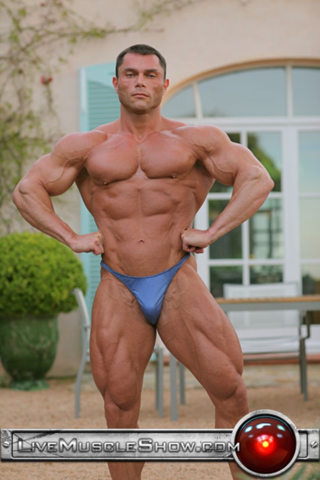 live muscle show  Ted Durban