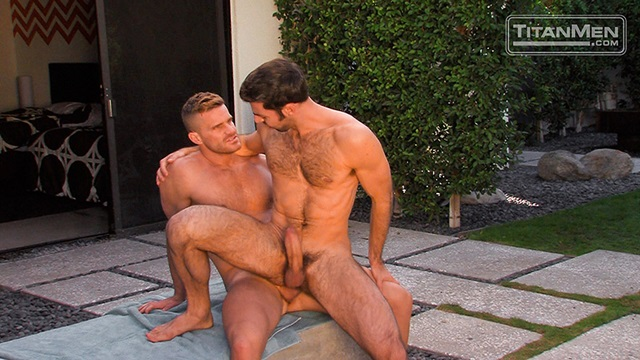 titan men  Dario Beck and Landon Conrad