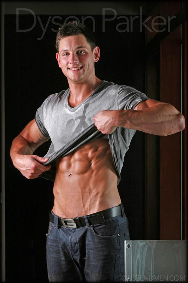 muscle men 2 legend men  Dyson Parker