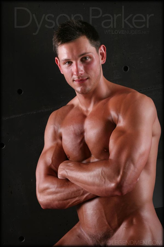 muscle men 2 legend men  Dyson Parker