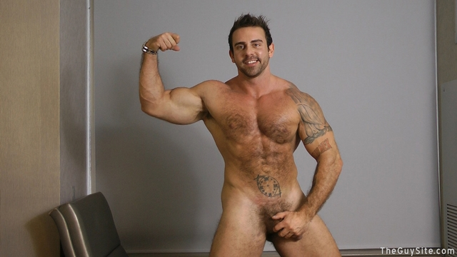 muscle and fur naked men