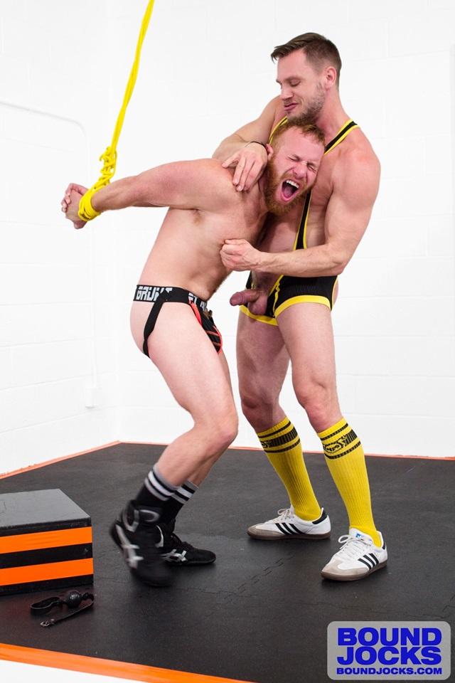 bound jocks  Hans Berlin and Steven Ponce