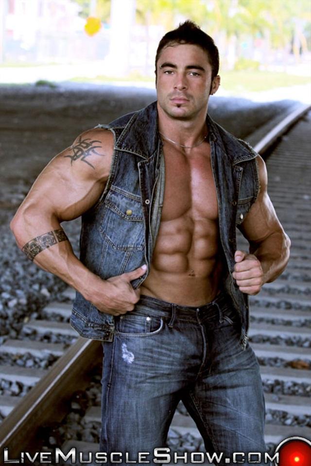 live muscle show  Jack Parker