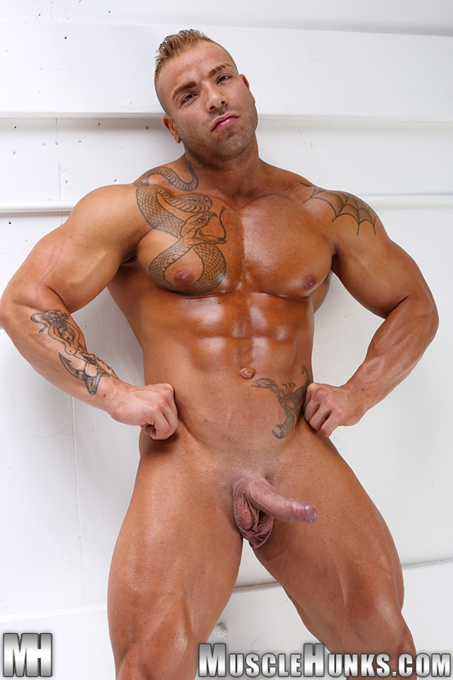 Valuable muscle hunk max hilton mine