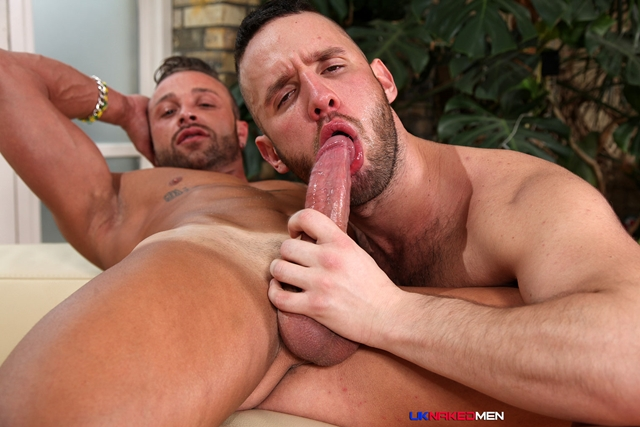 uk naked men  Frank Valencia and Aaron Steel