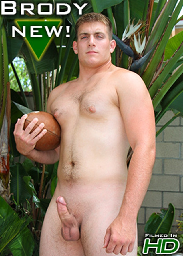 Unfortunately! Nude football player male