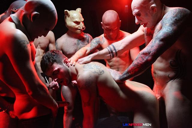 uk naked men  Riley Tess Gang Bang