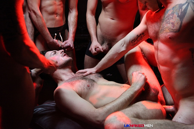uk naked men  Riley Tess Gang Bang