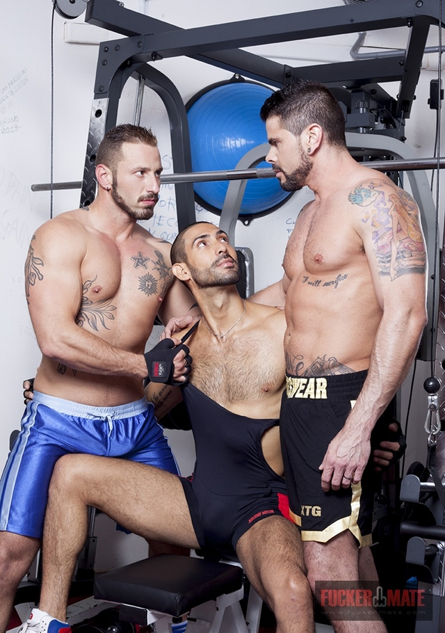 fucker mate  Alejandro Dumas, Antonio Miracle and Mario Domenech