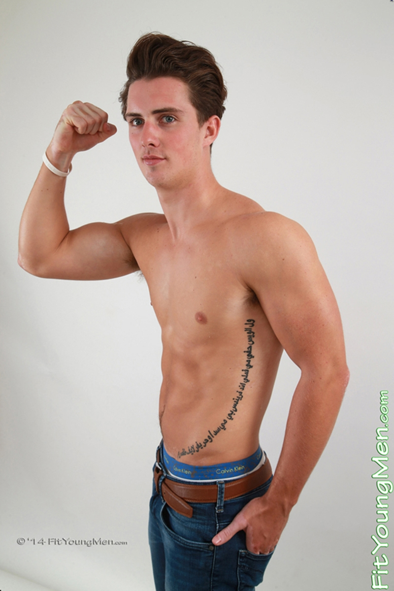 fit young men  Zack Dune