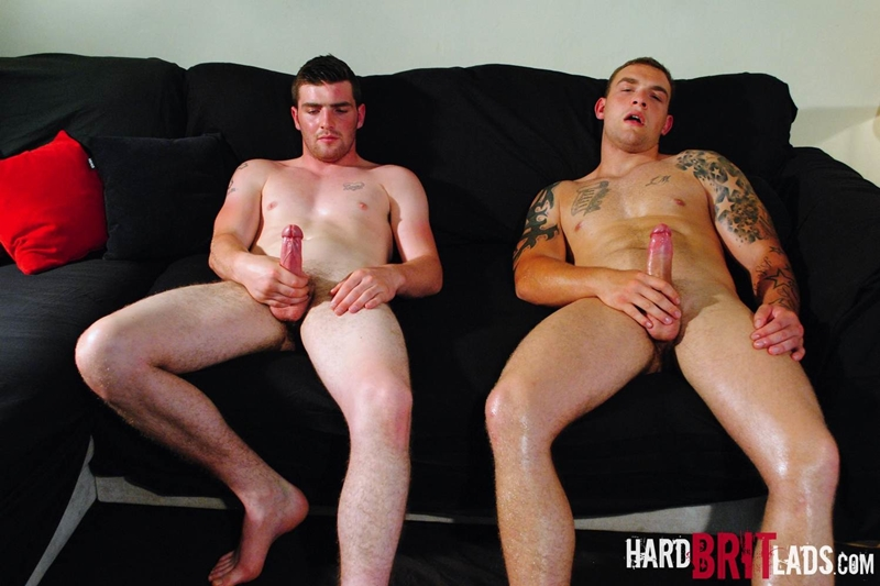 hard brit lads  Lee Andrews and Sean Andrews