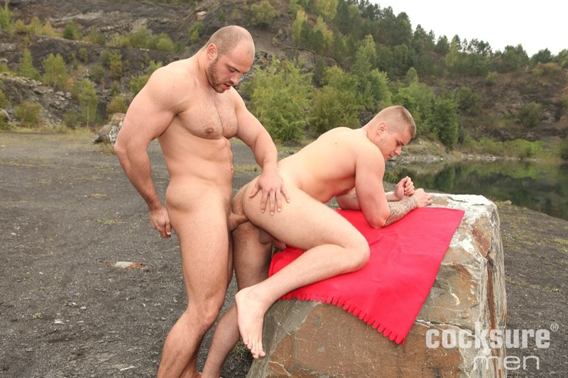cocksuremen  Thomas Ride and Ryan Cage