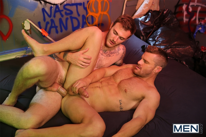 men  Christian Wilde and Landon Conrad