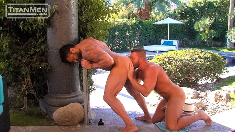 titan men  Hunter Marx and Rogan Richards