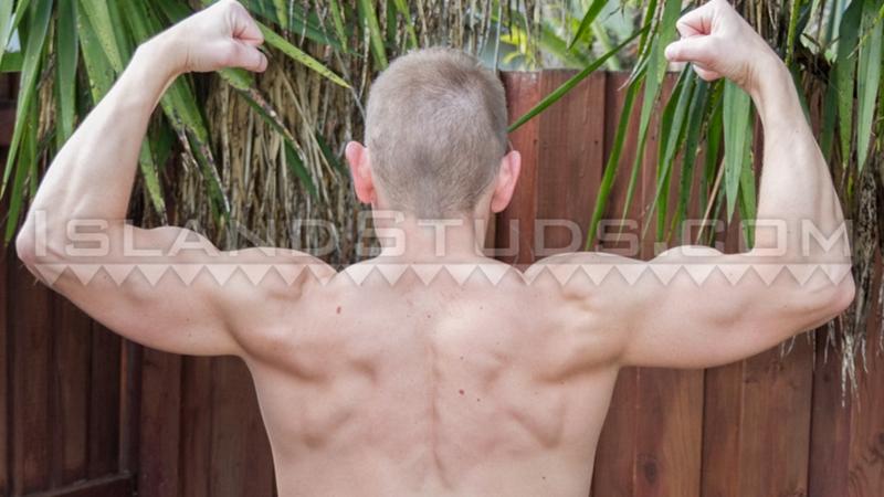 island studs  Marine muscle jock Gary