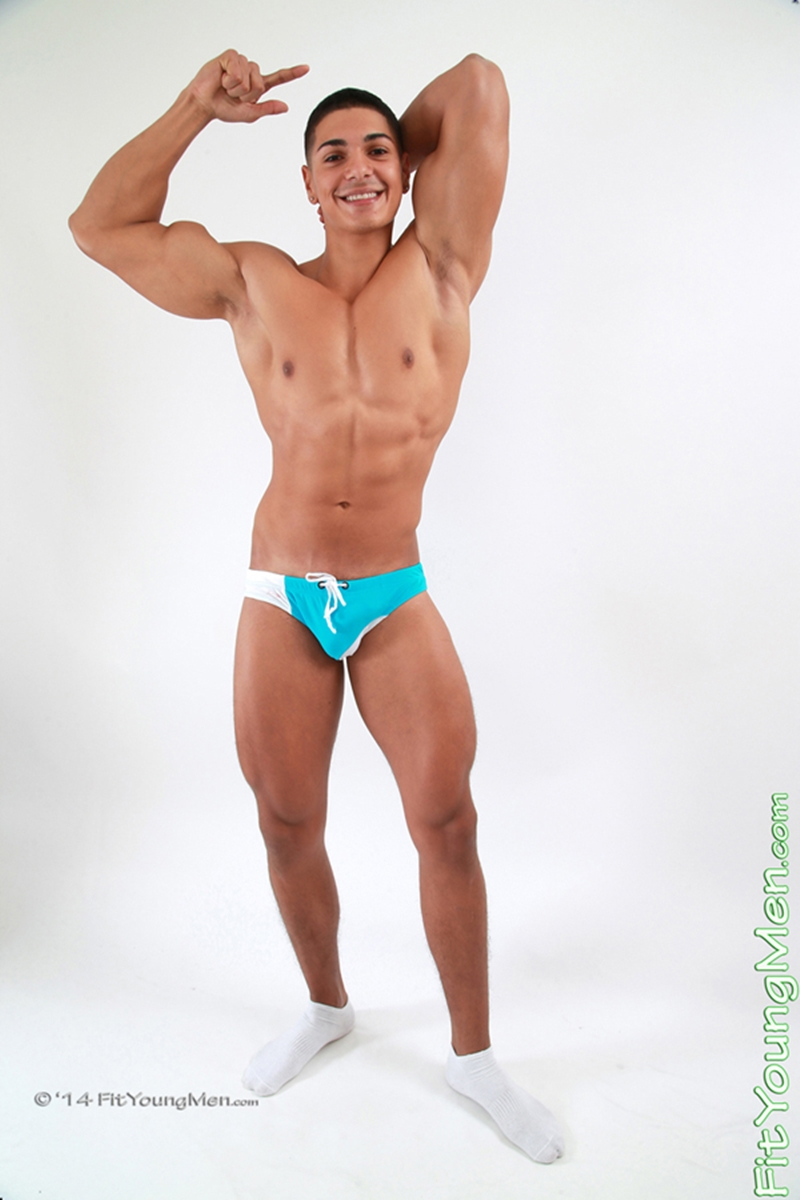 slimdog porn Personal Trainer Stripped To His Sexy Underwear Nude Gay Porn Pics