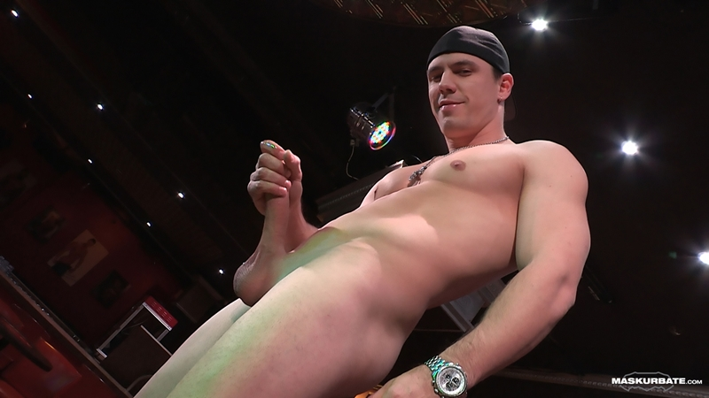 Gay male strippers cumming a juicy wad with 6