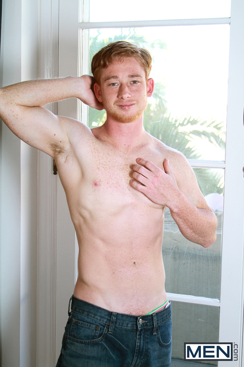 Colt Rivers Chokes On Colt Callaghans Big Ginger Dick -4981