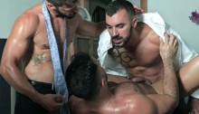 MenatPlay-Flex-Xtremmo-Hector-de-Silva-Xavi-Duran-naked-muscle-business-suit-men-fuck-rim-cock-doggy-style-fucking-Tag-Team-Spit-Roast-02-gay-porn-star-sex-video-gallery-photo