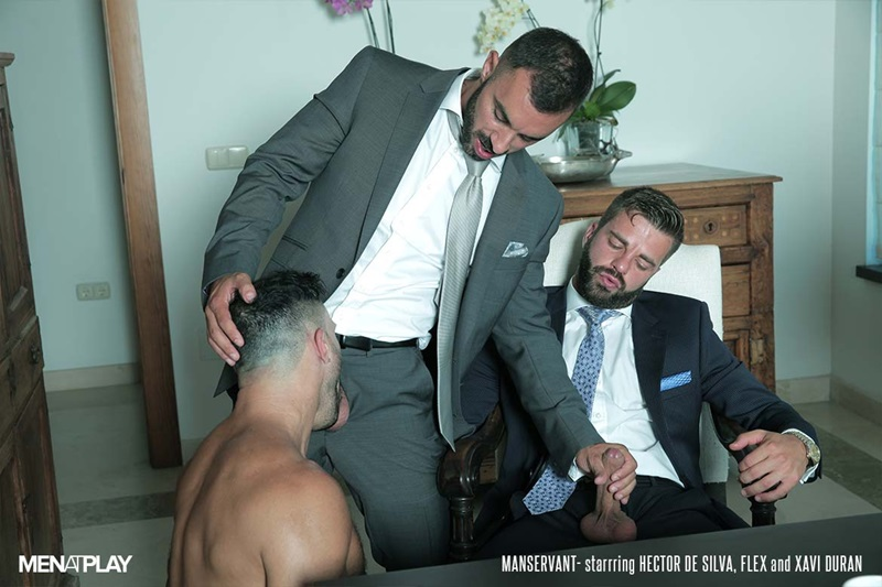 MenatPlay-Flex-Xtremmo-Hector-de-Silva-Xavi-Duran-naked-muscle-business-suit-men-fuck-rim-cock-doggy-style-fucking-Tag-Team-Spit-Roast-17-gay-porn-star-sex-video-gallery-photo