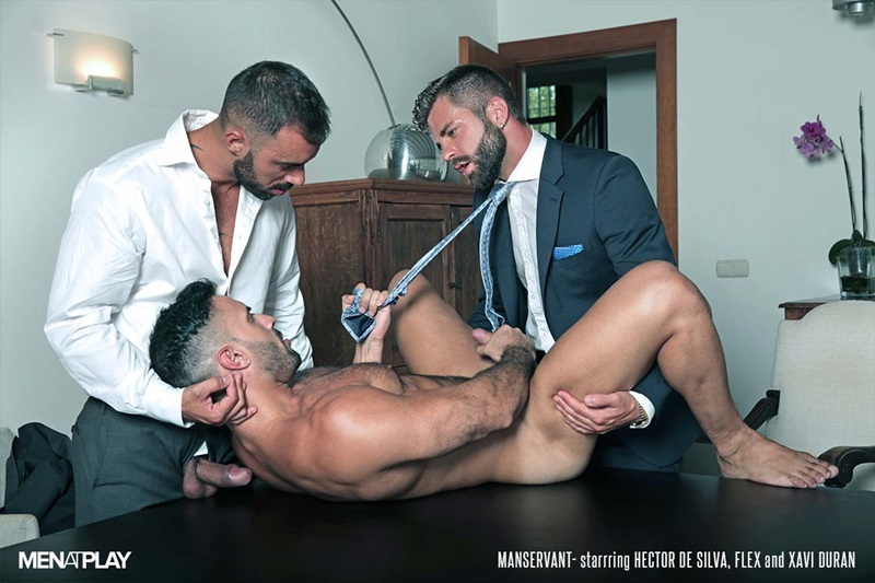 MenatPlay-Flex-Xtremmo-Hector-de-Silva-Xavi-Duran-naked-muscle-business-suit-men-fuck-rim-cock-doggy-style-fucking-Tag-Team-Spit-Roast-21-gay-porn-star-sex-video-gallery-photo