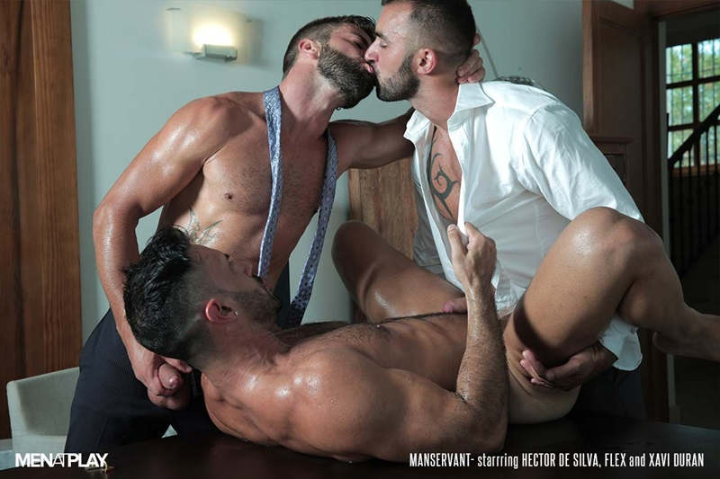 MenatPlay-Flex-Xtremmo-Hector-de-Silva-Xavi-Duran-naked-muscle-business-suit-men-fuck-rim-cock-doggy-style-fucking-Tag-Team-Spit-Roast-24-gay-porn-star-sex-video-gallery-photo