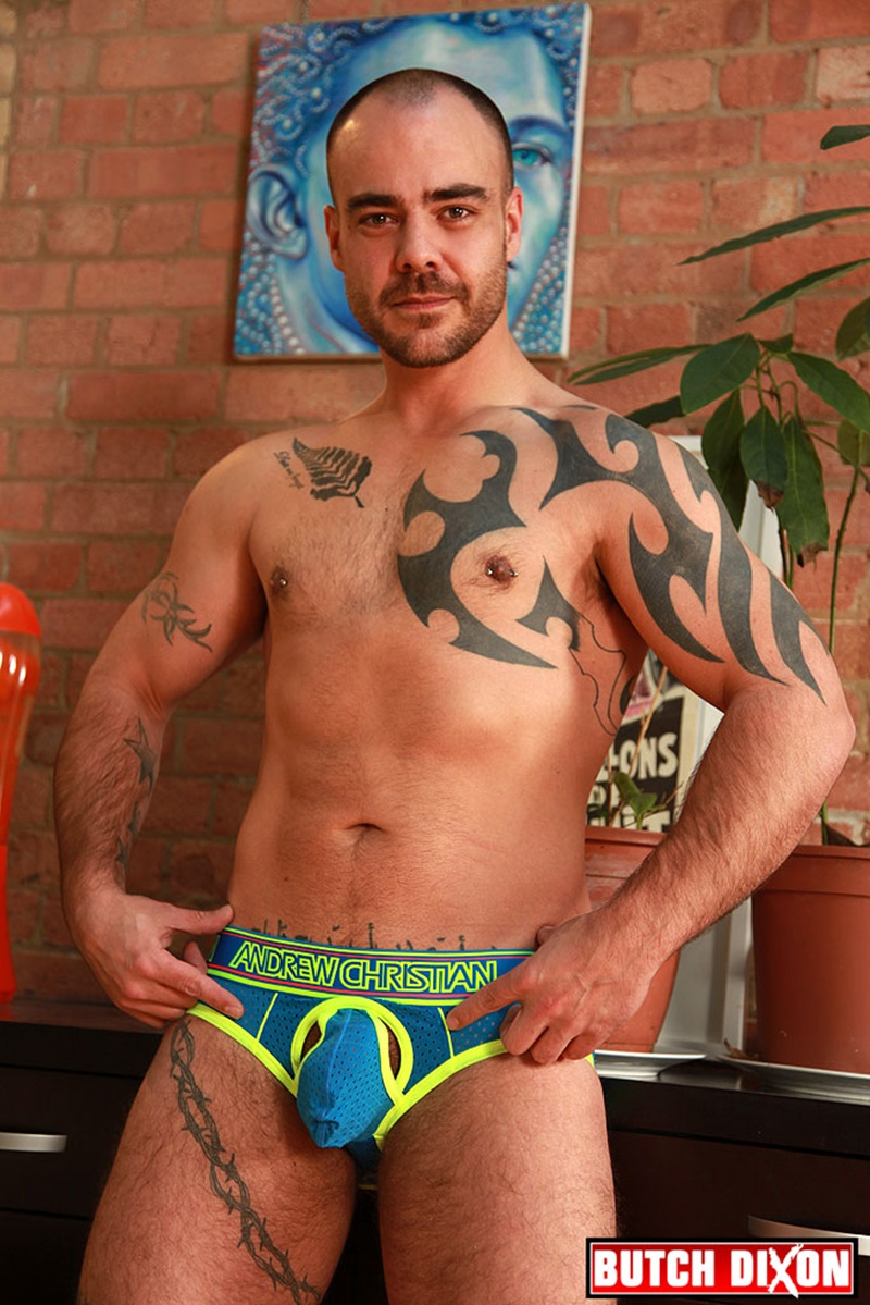 ButchDixon-tattoo-muscle-guy-David-James-ex-straight-soldier-dark-tanned-muscular-hairy-untrimmed-pubes-thick-stiff-cock-jerking-006-gay-porn-sex-gallery-pics-video-photo