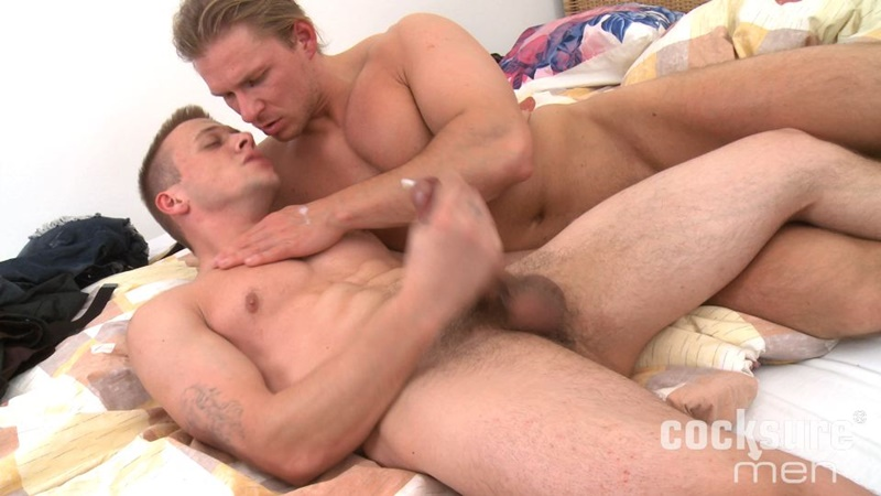 CocksureMen Hunky Ondrej Oslava stroking hard uncut cock Young Dom Josef muscular abs chest sucks big prick 69 bareback fucking raw cock 018 gay porn sex gallery pics video photo - Gay sex orgy Sir Peter and Isaac X double fuck Valentin Amour watched by cuckold Joaquin Santana