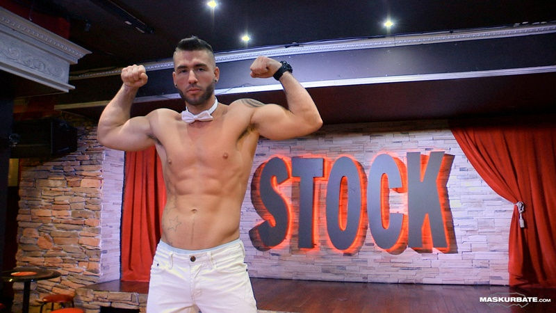Maskurbate Unmasked live professional male stripper Junior Montreal Stock bar stage muscled body sexy athletic young dude big thick dick 002 gay porn sex gallery pics video photo1 - Sexy young boy Karol Gajda jerks his huge twink dick hot assplay with his vibrating anal dildo