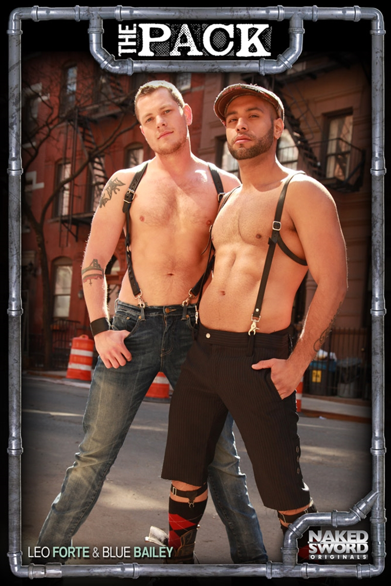 naked sword  Leo Forte and Blue Bailey (The Pack Pt1)