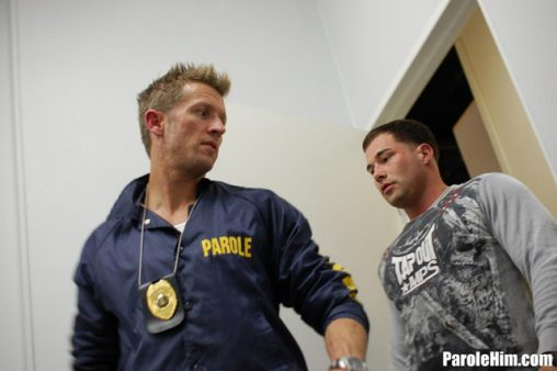 Prisoner-blowjob-Benny-G-forced-to-suck-officer-Johnson-dick-for-favors-at-Parole-Him-01-Ripped-Muscle-Bodybuilder-Strips-Naked-and-Strokes-His-Big-Hard-Cock-torrent-photo1
