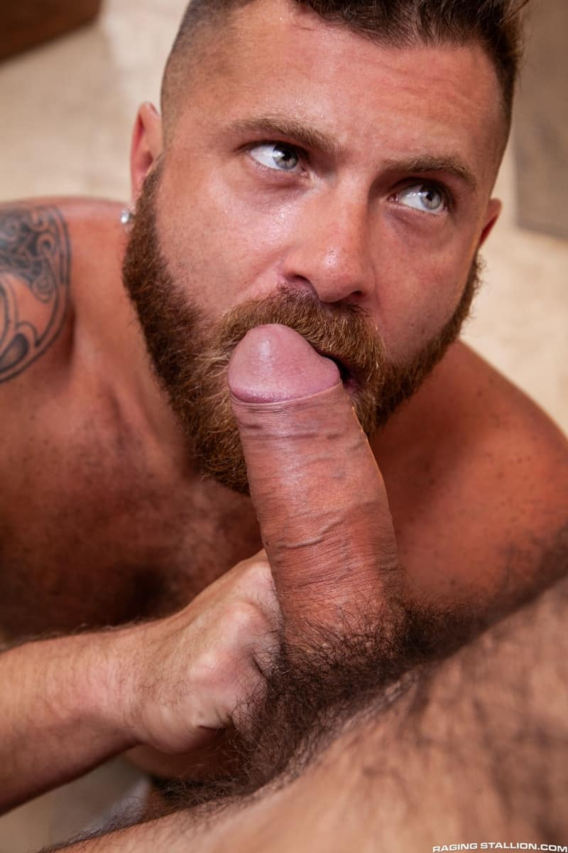 Riley Mitchel Max Duro hairy muscle hunks bubble butt fucked hard huge thick cock RagingStallion 009 gay porn pictures gallery - Riley Mitchel's bubble butt fucked hard Max Duro's huge thick cock