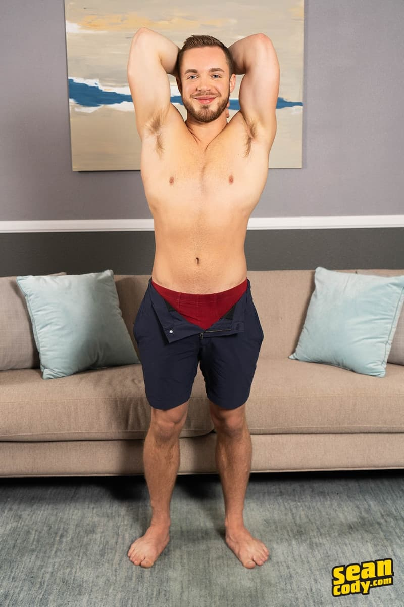 Men for Men Blog Gay-Porn-Pics-004-Stud-Daniel-muscled-Cam-sweaty-bareback-ass-fucking-SeanCody Studly Daniel leads sculpted Cam through a sweaty hands on yoga session before bareback ass fucking Sean Cody