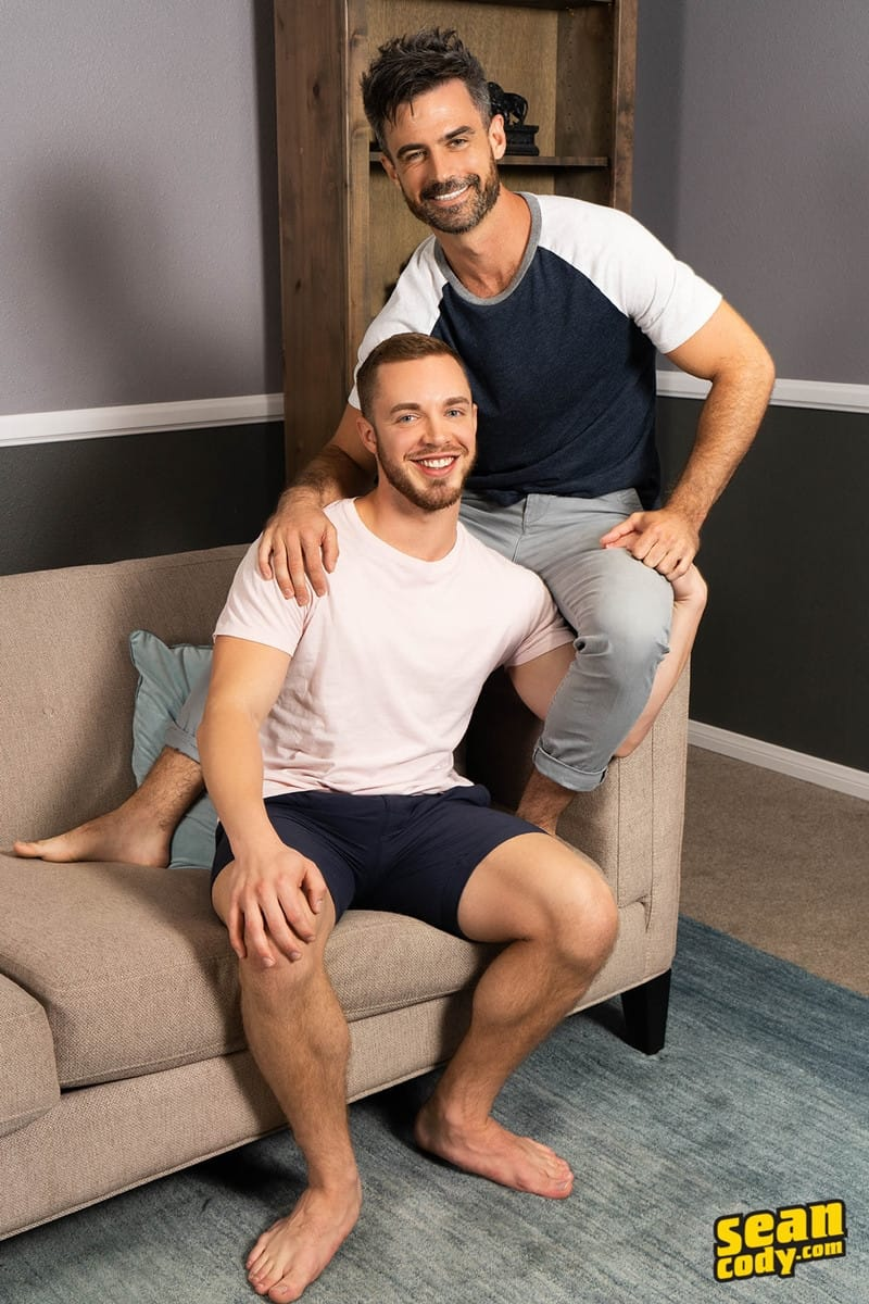 Men for Men Blog Gay-Porn-Pics-008-Stud-Daniel-muscled-Cam-sweaty-bareback-ass-fucking-SeanCody Studly Daniel leads sculpted Cam through a sweaty hands on yoga session before bareback ass fucking Sean Cody