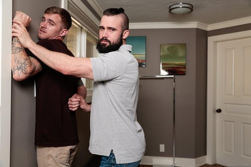 Hot-young-tattooed-stud-Ryan-Jordan-fucks-bearded-Police-Officer-Mathias-smooth-bubble-ass-NextDoorStudios-005-Gay-Porn-Pics