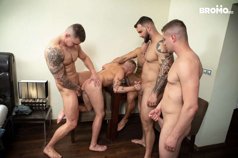 Bromo-Hot-naked-sub-dude-four-masked-men-bareback-fucking-ass-holes-019-gay-porn-pictures-gallery
