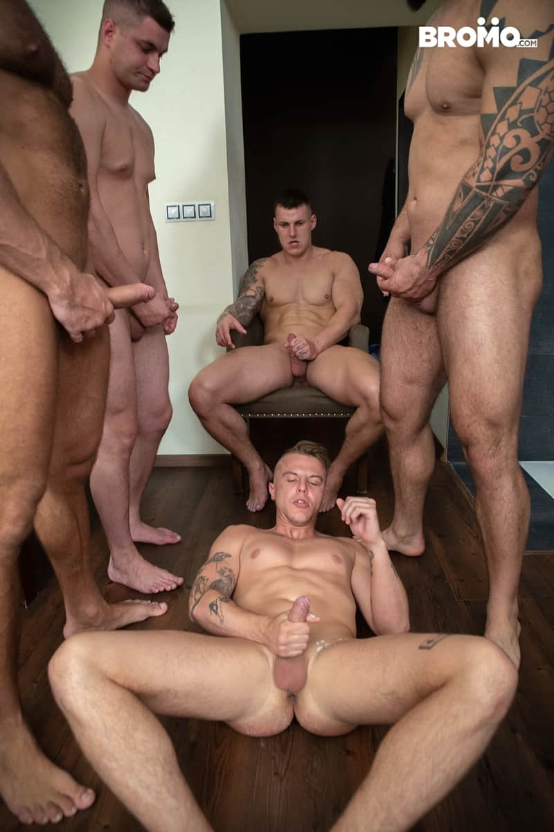 Bromo-Hot-naked-sub-dude-four-masked-men-bareback-fucking-ass-holes-025-gay-porn-pictures-gallery