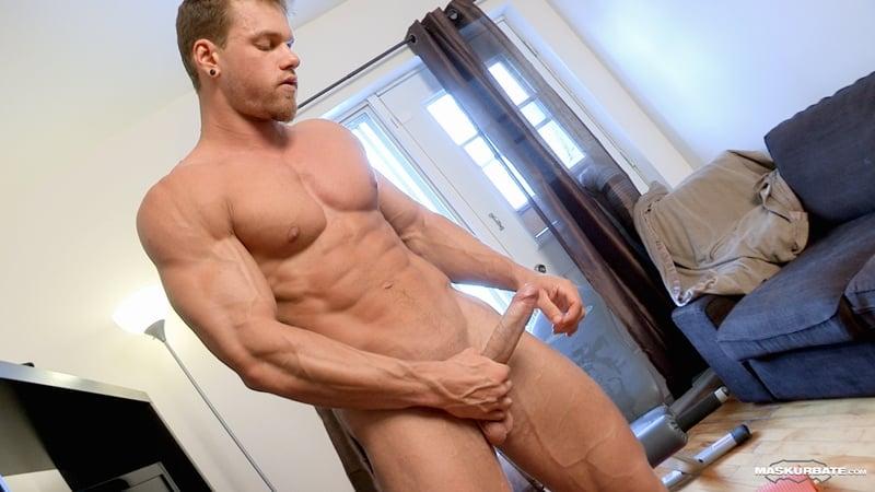 Big-muscle-man-Maskurbate-Brad-strips-naked-jerking-huge-uncut-dick-cum-012-Gay-Porn-Pics