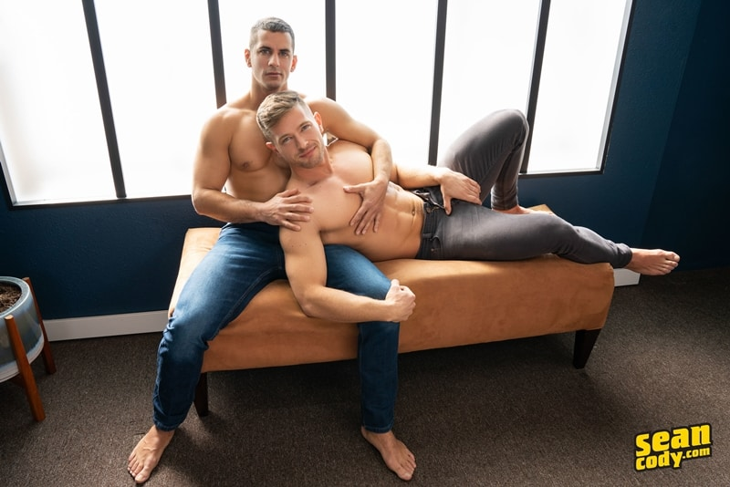 Sexy ripped young muscle dude Lachlan bareback fucks Deacon hot bubble asshole 001 gay porn pics - Sexy ripped young muscle dude Lachlan bareback fucks Deacon's hot bubble asshole