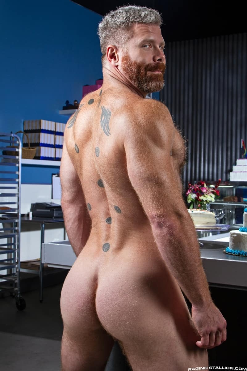 Wade Wolfgar rims fucks Cain Marko hairy ass hole 008 gay porn pics - Wade Wolfgar rims then fucks Cain Marko's hairy ass hole