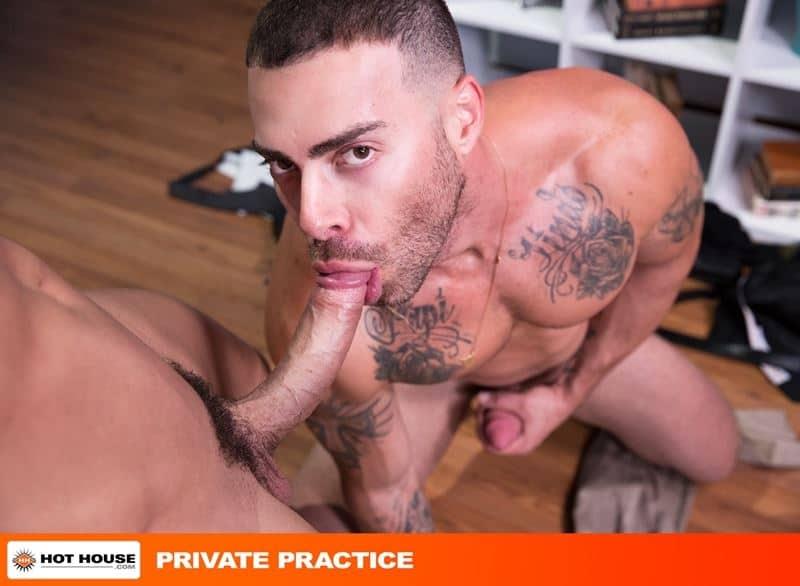Doctor Sean Zevran's huge erect cock fucking Carlos Lindo's hot hole