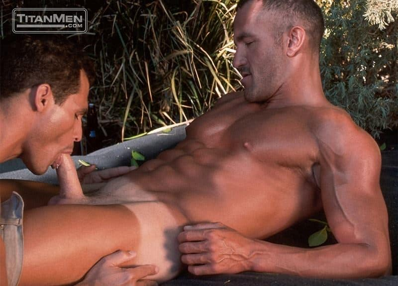 Michel DAmours huge thick dick fucks muscled hunk Rich Ryan hot bubble butt 001 gay porn pics - Michel D'Amours's huge thick dick fucks muscled hunk Rich Ryan's hot bubble butt