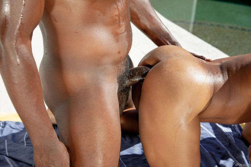 Big dicked black dude Devin Trez bareback fucks sexy stud Jimmy West tight bubble butt 10 gay porn pics - Big dicked black dude Devin Trez's bareback fucks sexy stud Jimmy West's tight bubble butt